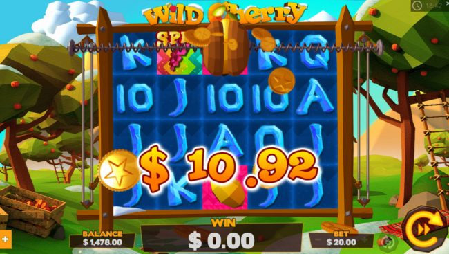 Rich Casino featuring the Video Slots Wild Cherry with a maximum payout of $8,000