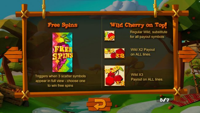 Wild Cherry :: Wild and Scatter Symbol Rules