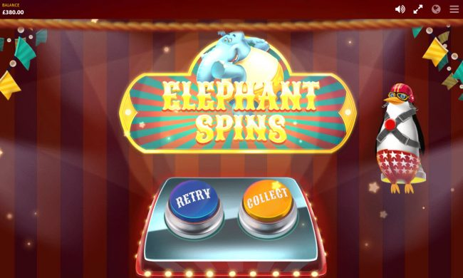 Shadowbet featuring the Video Slots Wild Circus with a maximum payout of $400,000