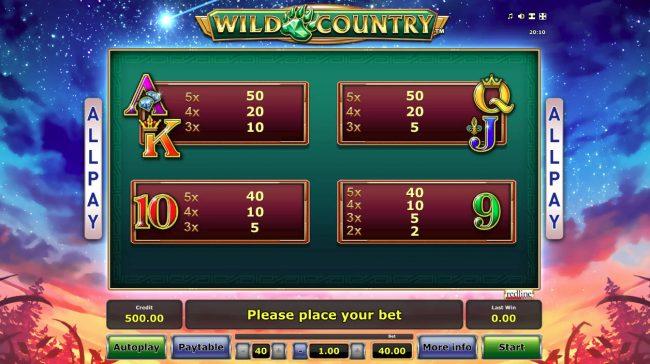 Wild Country :: Low Value Symbols