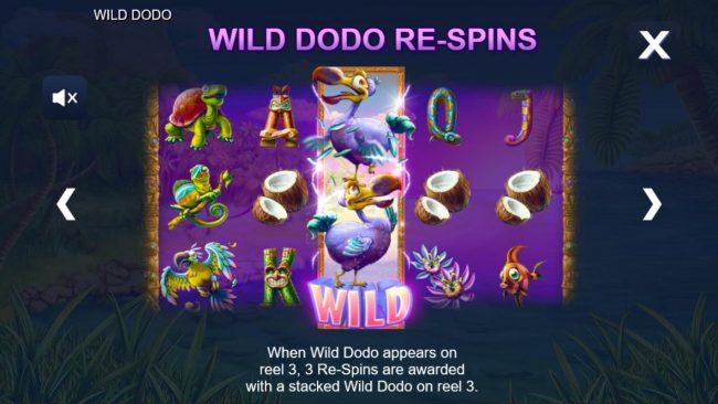 Wild Dodo :: Wild Dodo Re-Spins Rules