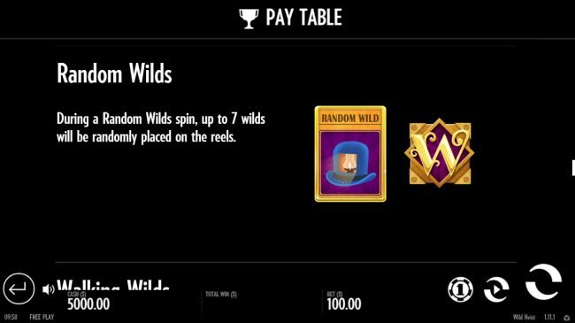 Grand Ivy featuring the Video Slots Wild Heist at Peacock Manor with a maximum payout of $34,000