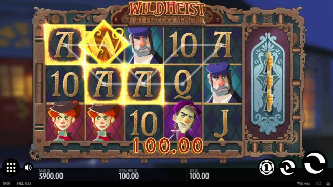 Lightbet featuring the Video Slots Wild Heist at Peacock Manor with a maximum payout of $34,000