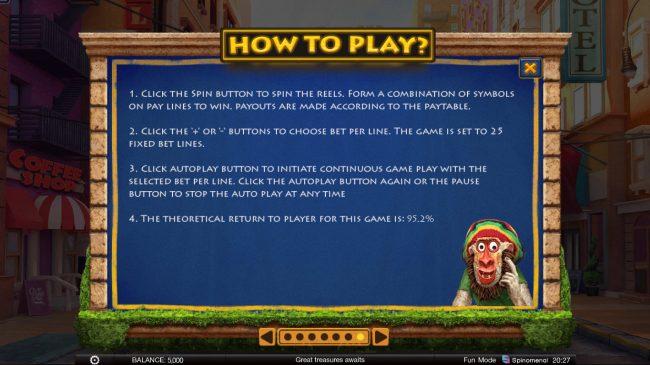 Wild Heist :: General Game Rules