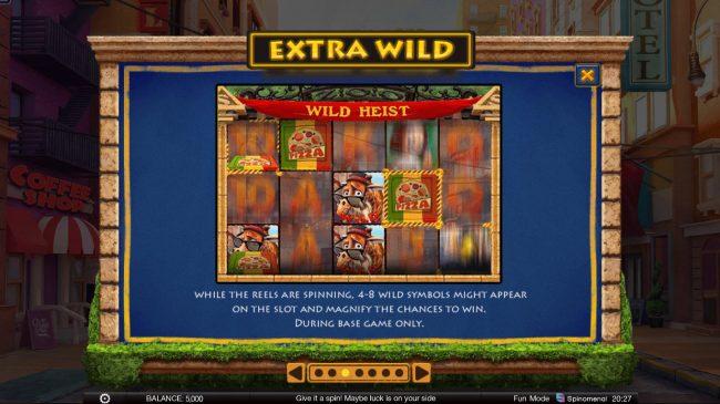 Wild Heist :: Extra Wild