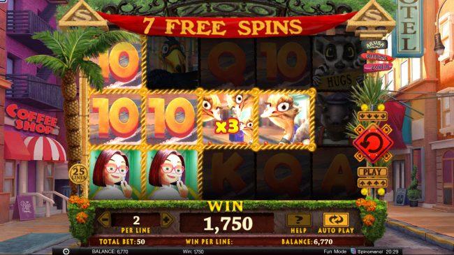 Wild Heist :: Multiple winning paylines