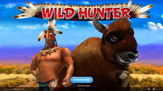 Play slots at Slot King: Slot King featuring the Video Slots Wild Hunter with a maximum payout of $50,000