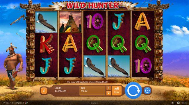 Wild Hunter :: Main Game Board