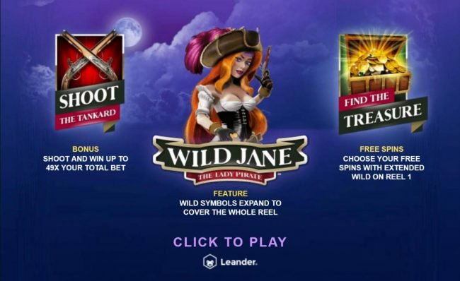 Play slots at 1xBit Casino: 1xBit Casino featuring the Video Slots Wild Jane the Lady Pirate with a maximum payout of $12,500