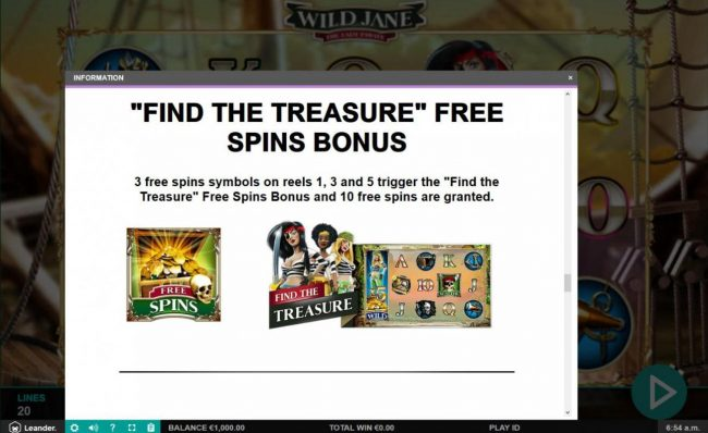 Spin Station featuring the Video Slots Wild Jane the Lady Pirate with a maximum payout of $12,500