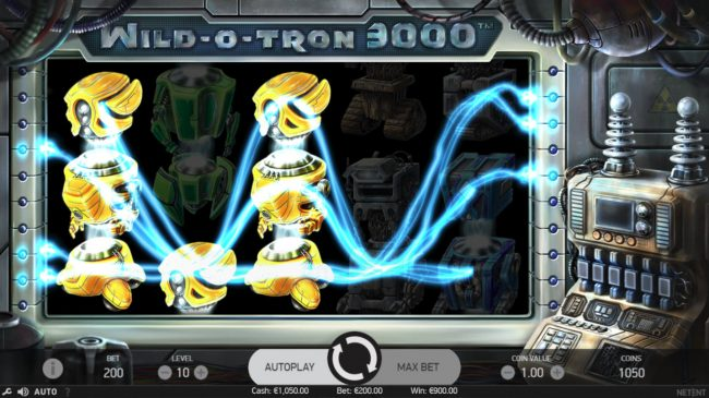 ZigZag777 featuring the Video Slots Wild-O-Tron 3000 with a maximum payout of $10,000
