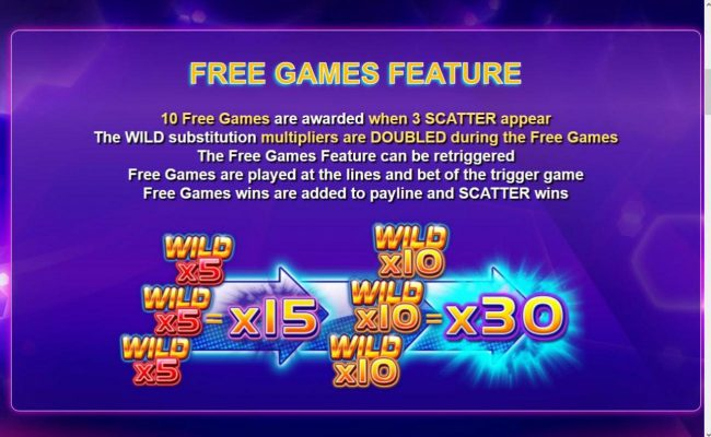 Play slots at Hello: Hello featuring the Video Slots Wild Play Super Bet with a maximum payout of $16,375