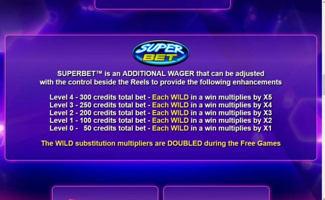 Joy Casino featuring the Video Slots Wild Play Super Bet with a maximum payout of $16,375