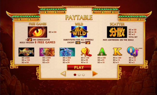 City Tower featuring the Video Slots Wild Qilin with a maximum payout of $250,000