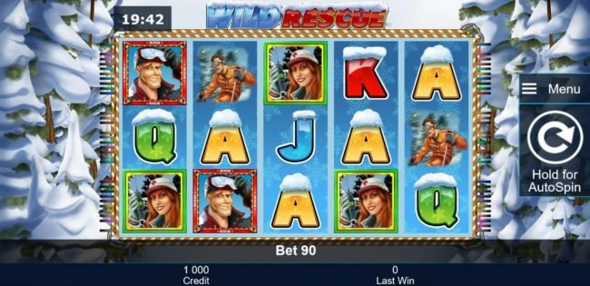 AC Casino featuring the Video Slots Wild Rescue with a maximum payout of $4,500,000