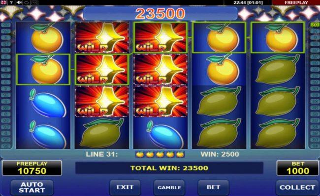 Wild Respin :: A 23500 coin jackpot win
