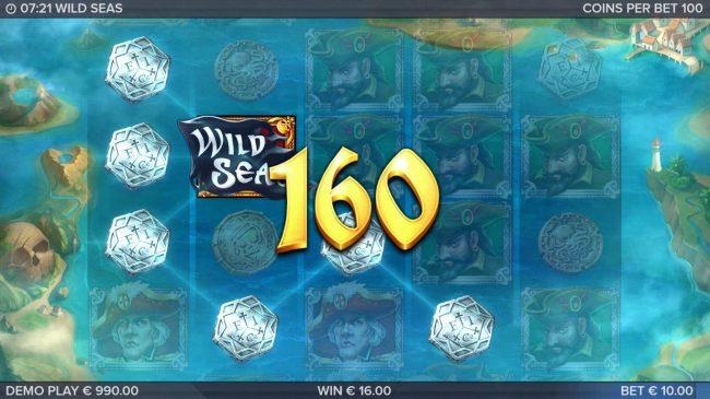 Wild Seas :: Multiple winning paylines