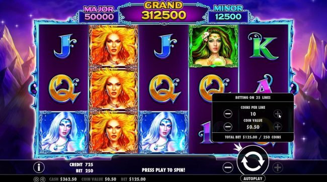 Play slots at Win Paradise: Win Paradise featuring the Video Slots Wild Spells with a maximum payout of $10,000