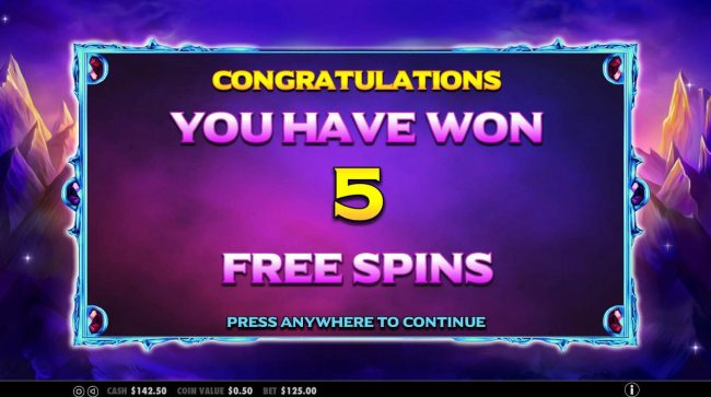 Casino Pop featuring the Video Slots Wild Spells with a maximum payout of $10,000