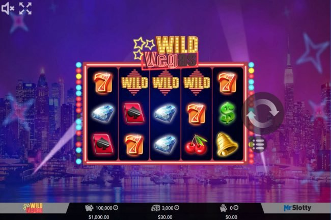 Play slots at Spintropolis: Spintropolis featuring the Video Slots Wild Vegas with a maximum payout of $60,000