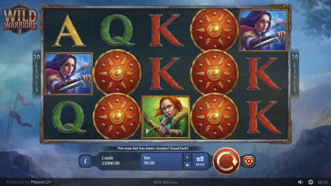 Wild Warriors :: Main Game Board
