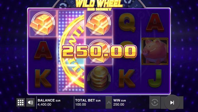Boaboa featuring the Video Slots Wild Wheel Big Money with a maximum payout of $60,000