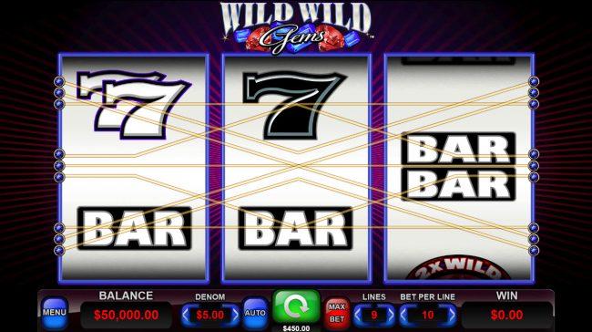 Wild Wild Gems :: Main Game Board
