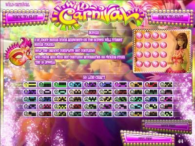 Riviera Play featuring the Video Slots Wild Carnival with a maximum payout of $17,500