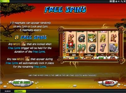 African Palace featuring the Video Slots Wild Gambler with a maximum payout of $200,000