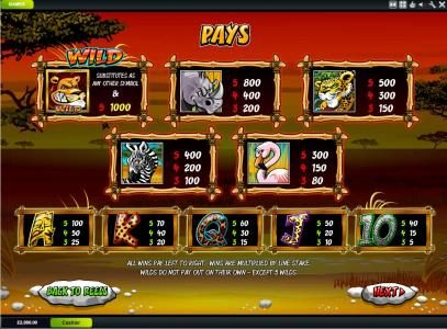 Carnival featuring the Video Slots Wild Gambler with a maximum payout of $200,000