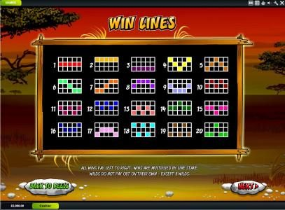EuroMax Play featuring the Video Slots Wild Gambler with a maximum payout of $200,000