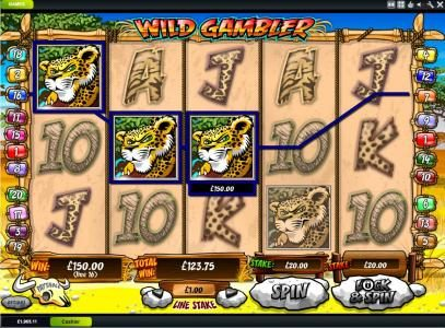 Vernons featuring the Video Slots Wild Gambler with a maximum payout of $200,000