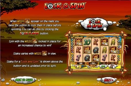 Slots Heaven featuring the Video Slots Wild Gambler with a maximum payout of $10,000