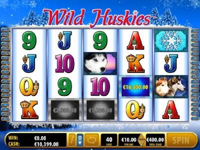 Wild Huskies :: $16,000 prize awarded