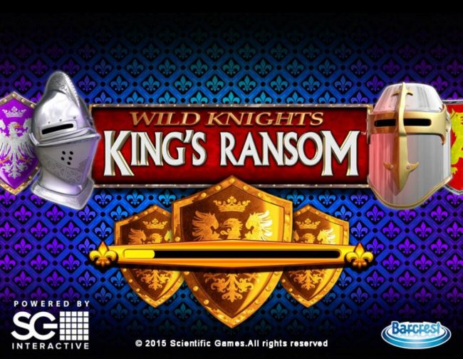 Wild Knights King's Ransom :: Splash screen - game loading