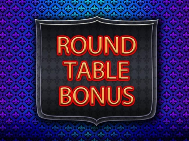 Wild Knights King's Ransom :: Round Table Bonus triggered during the Big Bet feature.