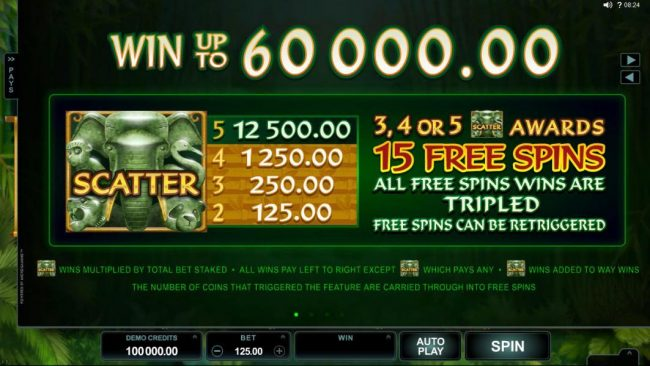 King Neptunes featuring the Video Slots Wild Orient with a maximum payout of $60,000