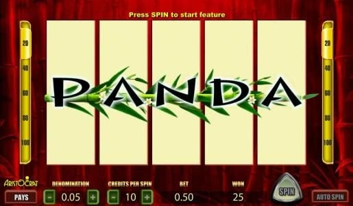 Fruity Vegas featuring the Video Slots Wild Panda with a maximum payout of 2000x