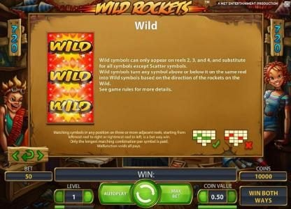 Wild Rockets :: wild symbol game rules
