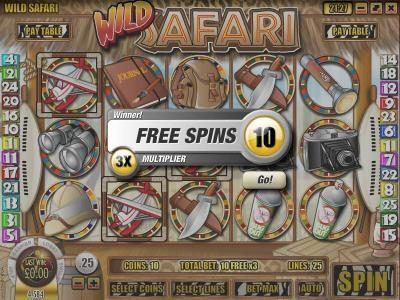 Superbet Palace featuring the Video Slots Wild Safari with a maximum payout of $12,500