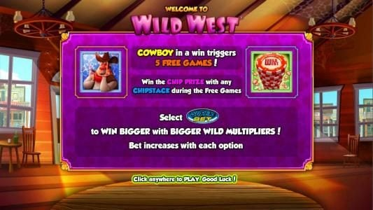 Play slots at Guts: Guts featuring the Video Slots Wild West with a maximum payout of $2,000