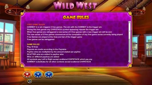 Free Games Rules and General Game Rules
