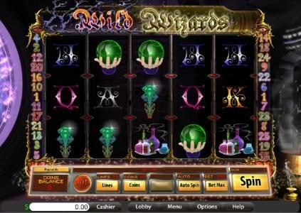 Big Dollar featuring the Video Slots Wild Wizards with a maximum payout of $10,000