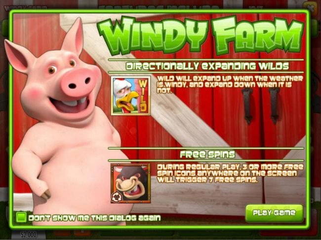 Play slots at Grand Bay: Grand Bay featuring the Video Slots Windy Farm with a maximum payout of $3,750