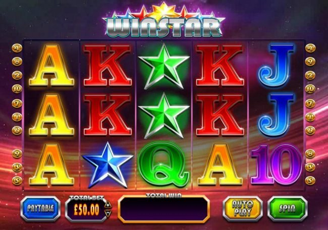 Play slots at Virgin: Virgin featuring the Video Slots Winstar with a maximum payout of Jackpot