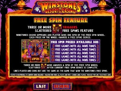 Slotty Vegas featuring the Video Slots Winstones Resort & Casino with a maximum payout of $2,000