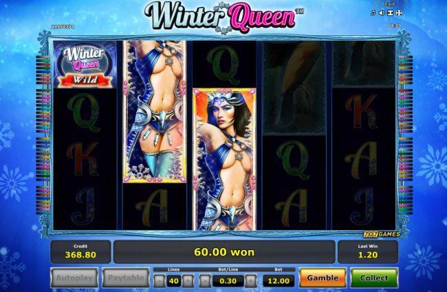 Winter Queen :: Multiple winning paylines