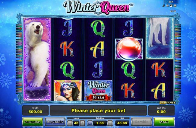 Winter Queen :: Main Game Board