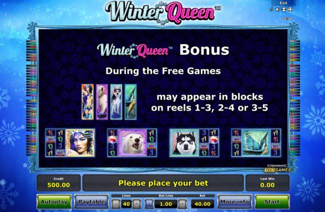 Winter Queen :: Bonus Features