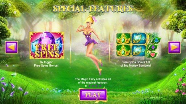 Winter Wonders :: Special Features Free Spins Bonus and Free Spins Bonus full of Big Money Symbols!.